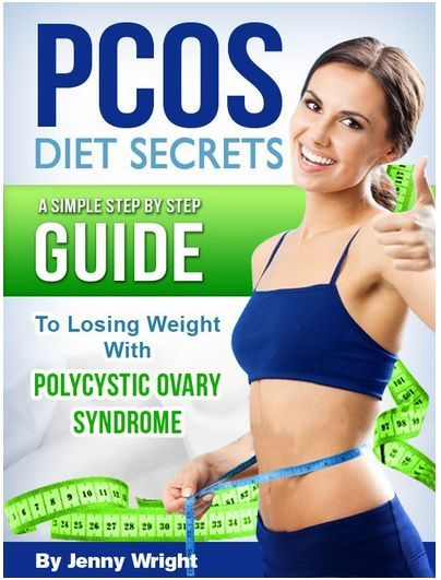 PCOS Book –  PCOS Diet Secrets (A Simple Step By Step Guide To Losing Weight With Polycystic Ovary Syndrome)
