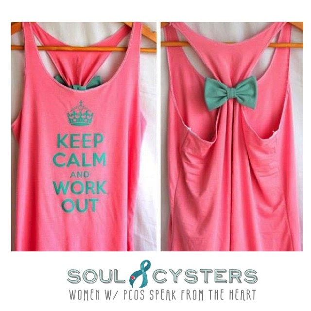 Cutest. Shirt. Ever. #fightpcos #pcos #pcosfighters #pcosawareness #pcosweightloss #soulcyster #soulcysters #pcosdiet #pcoswarrior