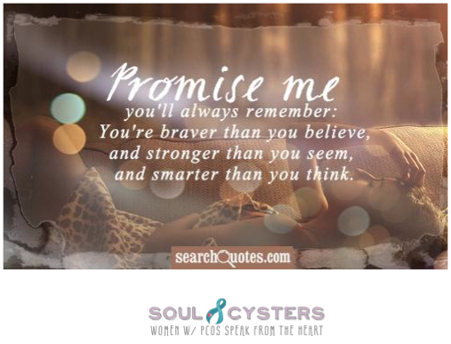 pcos quote soulcysters soul cyster125