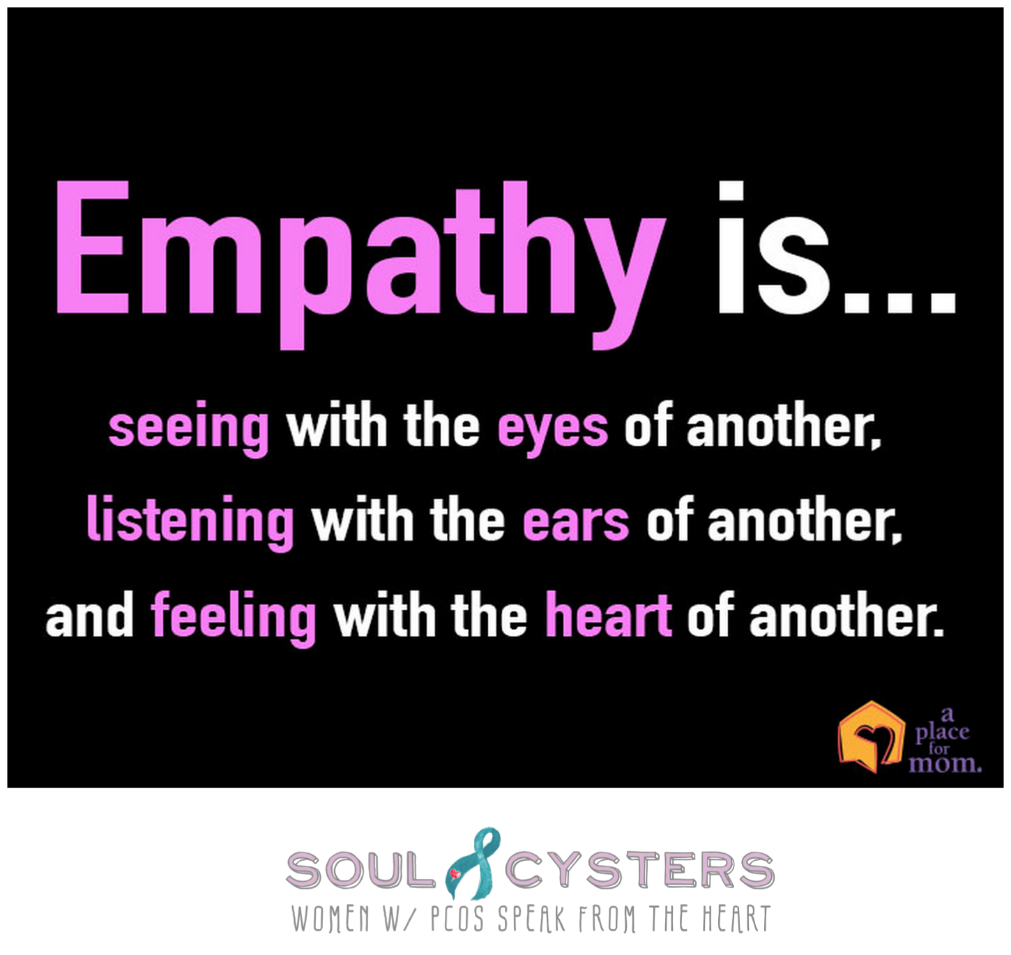 pcos quote soulcysters soul cyster241