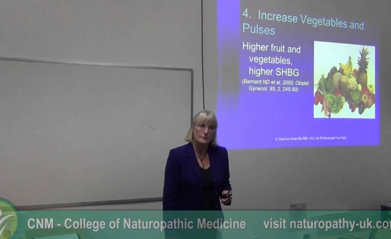 {pcos video} Dr. Marilyn Glenville on Polycystic Ovary Syndrome