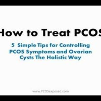 {VIDEO} How To Treat PCOS Naturally. Holistic Tips For Treating PCOS
