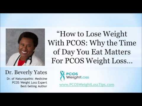 {VIDEO} How to Lose Weight with PCOS: Why the Time of Day You Eat Matters…