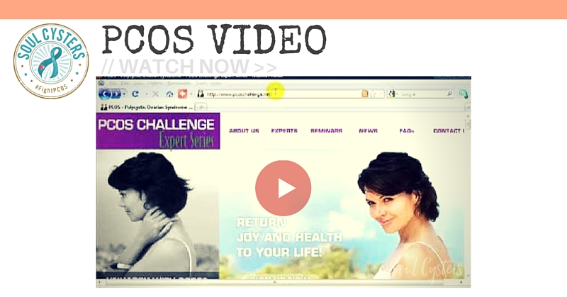 {VIDEO} PCOS – Polycystic Ovarian Syndrome Help