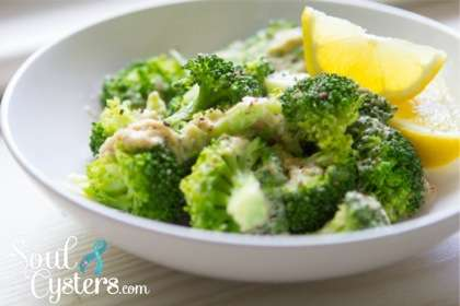 PCOS Friendly Recipe – Creamy Garlic Broccoli