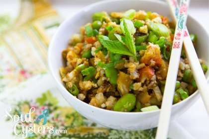 PCOS Friendly Recipe – Quick Cauliflower Fried Rice