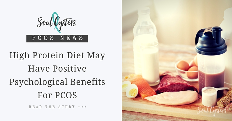 High Protein Diet May Have Positive Psychological Benefits for PCOS