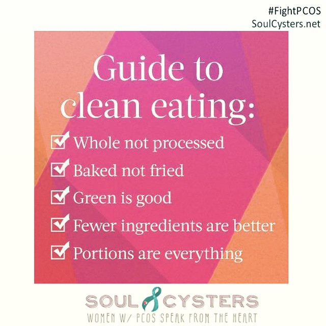 Find and share PCOS-friendly recipes at the message boards @ SoulCysters.net !