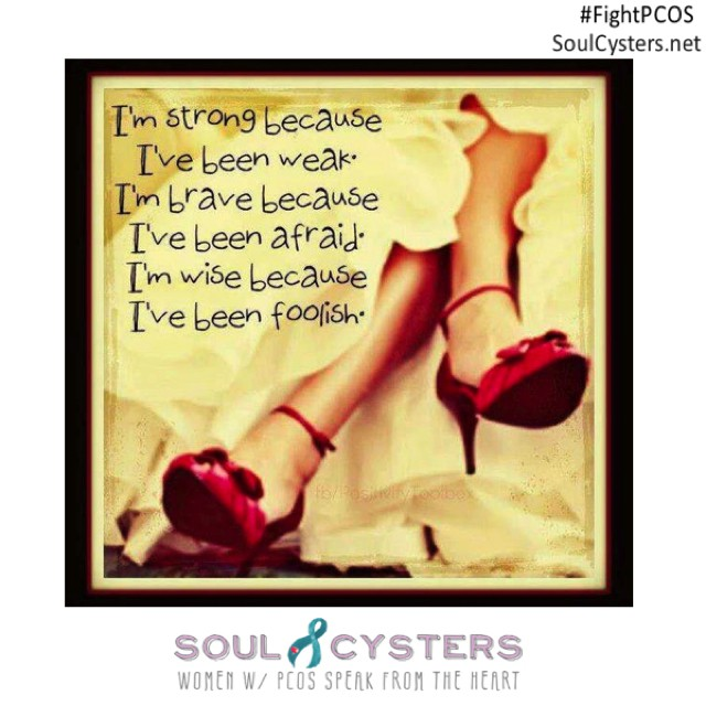 Youre not aloneAsk your PCOS questions at SoulCystersnet!  pcosdiethellip