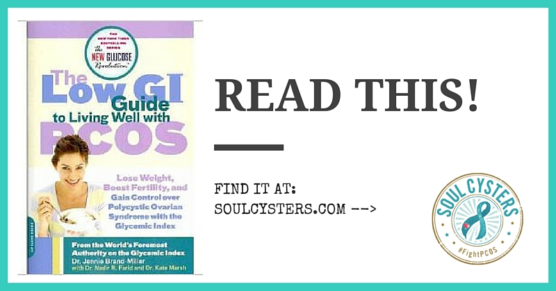 PCOS Book – The Low GI Guide to Living Well with PCOS